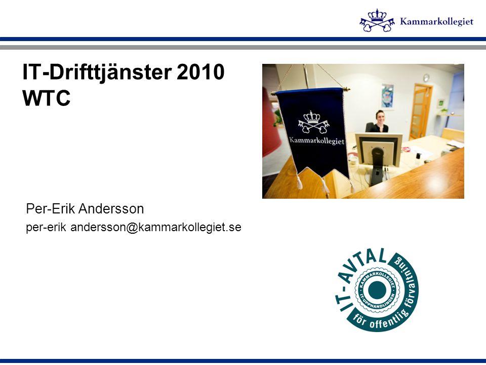 IT-Drifttjänster 2010 WTC Per-Erik Andersson