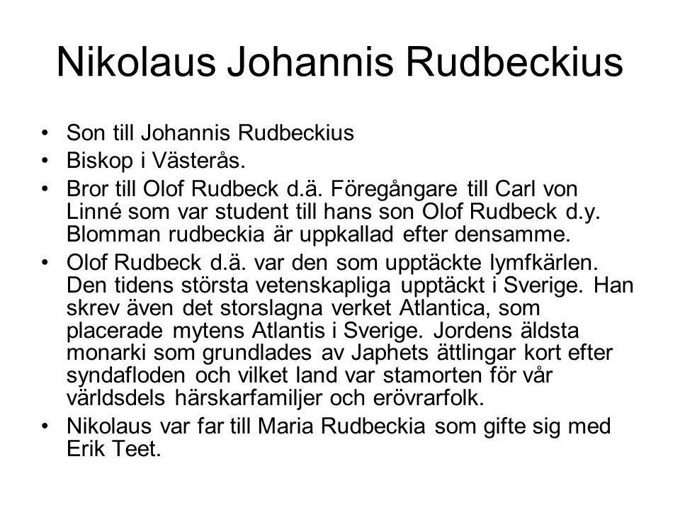 Nikolaus Johannis Rudbeckius