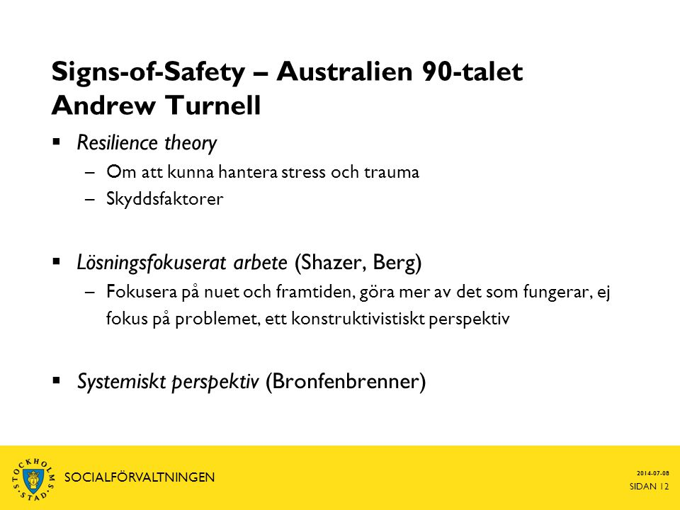 Signs-of-Safety – Australien 90-talet Andrew Turnell