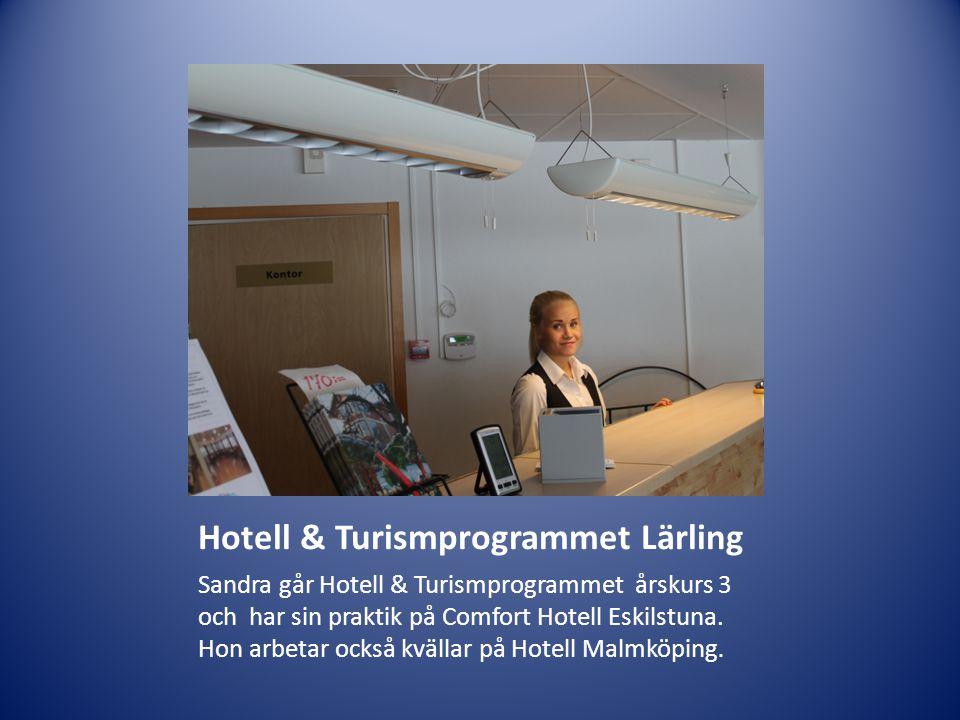 Hotell & Turismprogrammet Lärling