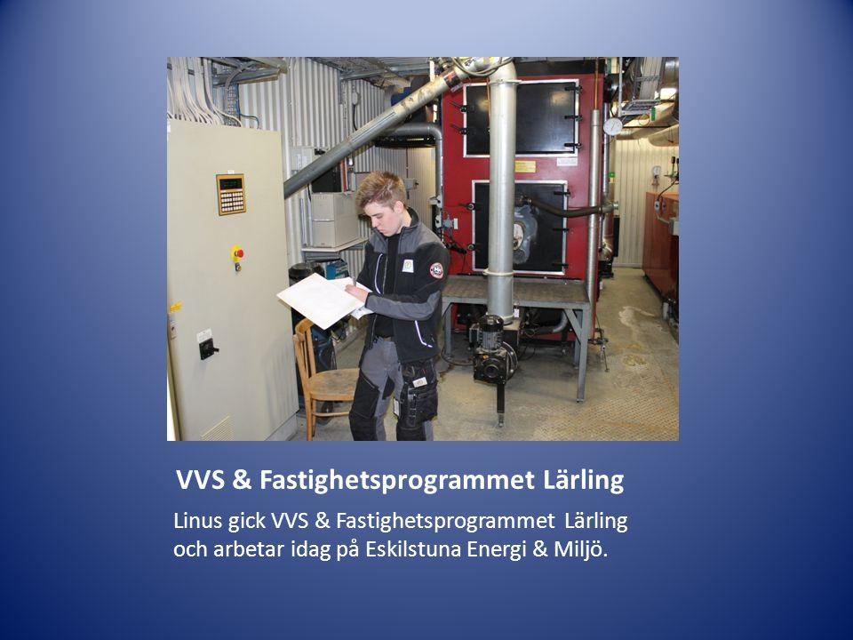 VVS & Fastighetsprogrammet Lärling