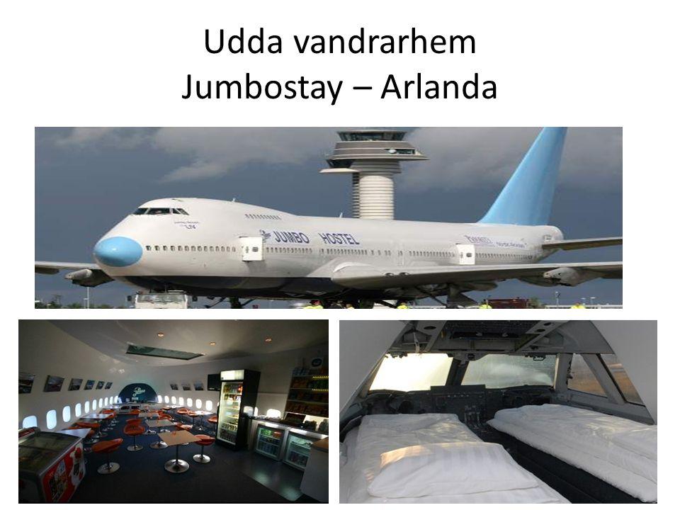 Udda vandrarhem Jumbostay – Arlanda