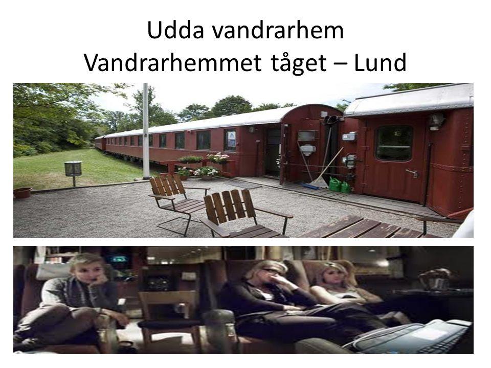 Udda vandrarhem Vandrarhemmet tåget – Lund