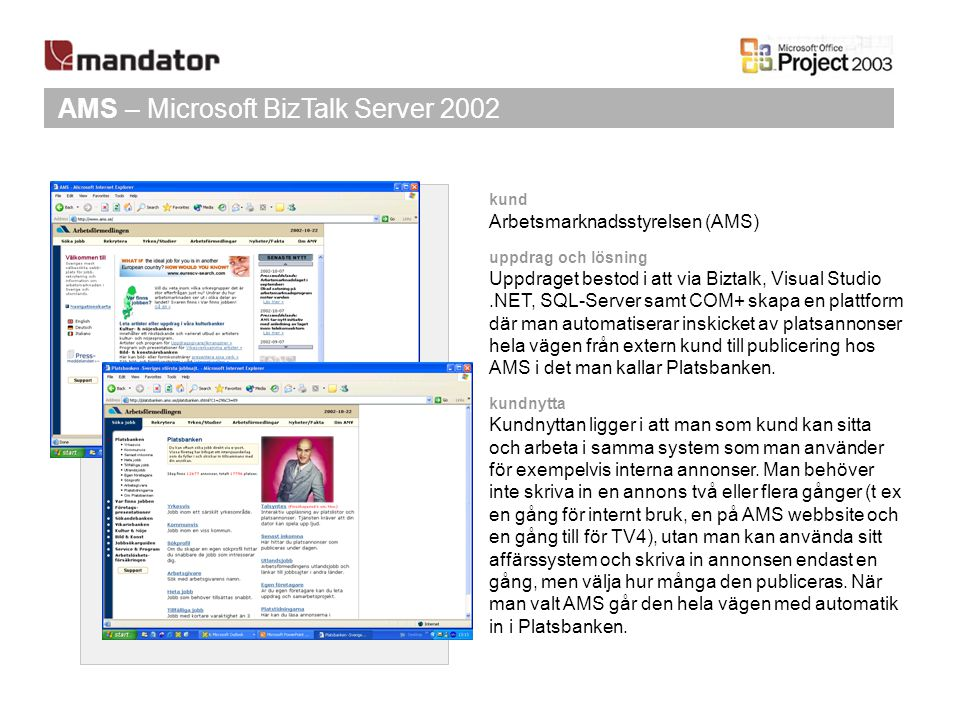 AMS – Microsoft BizTalk Server 2002