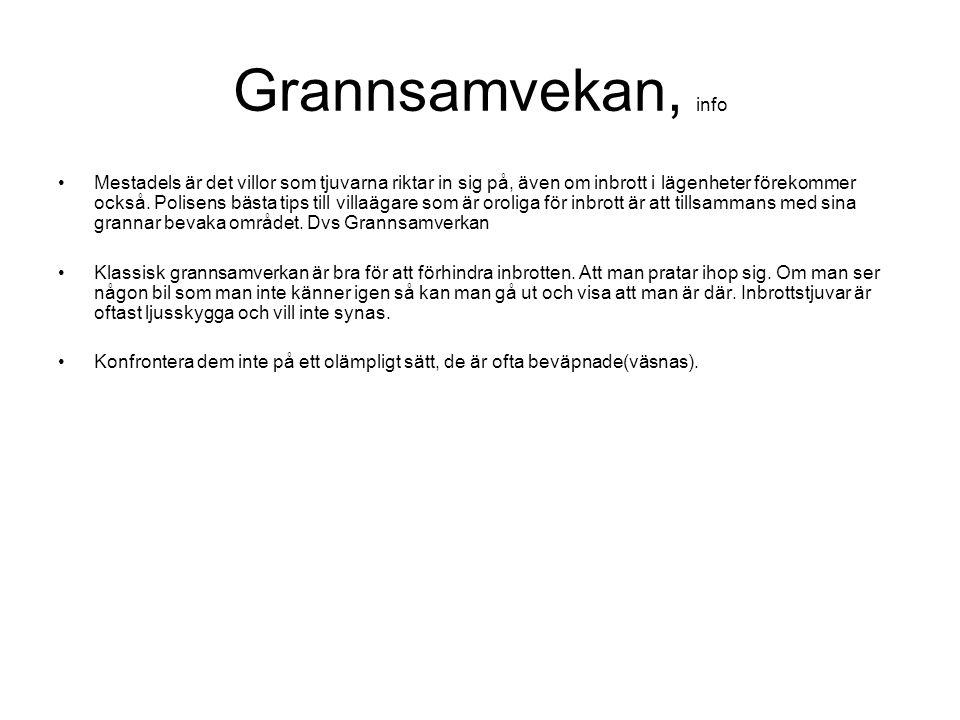 Grannsamvekan, info