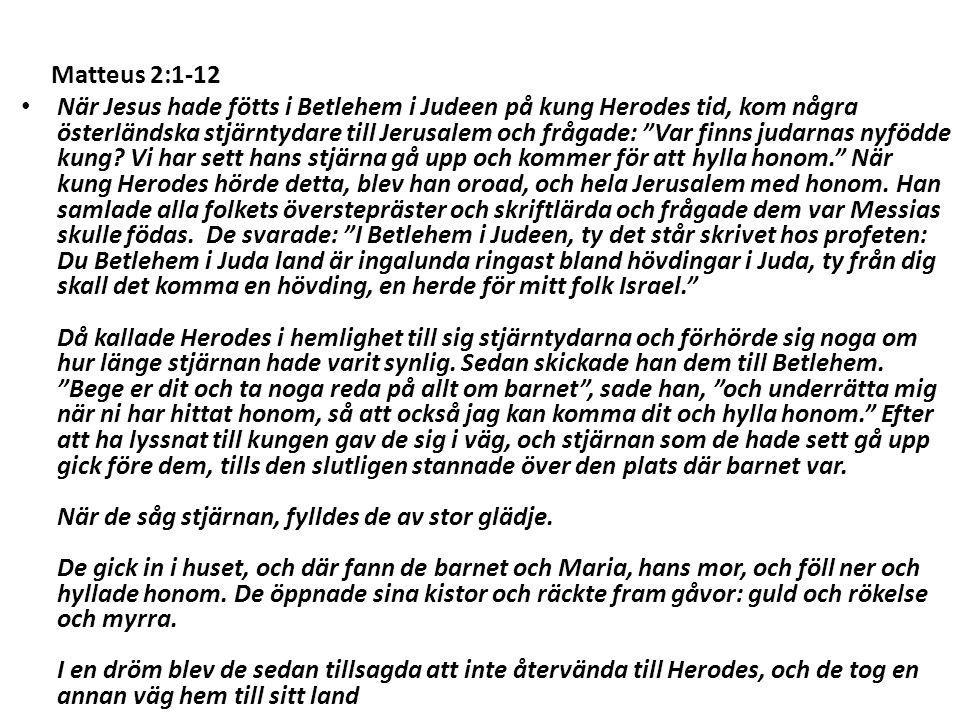 Matteus 2:1-12