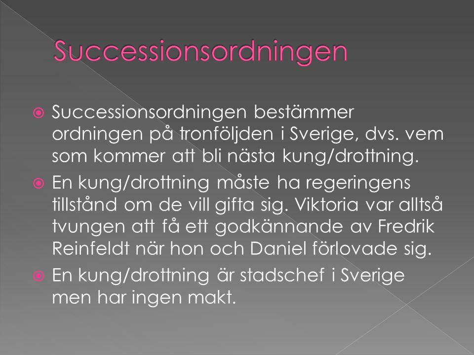 Successionsordningen