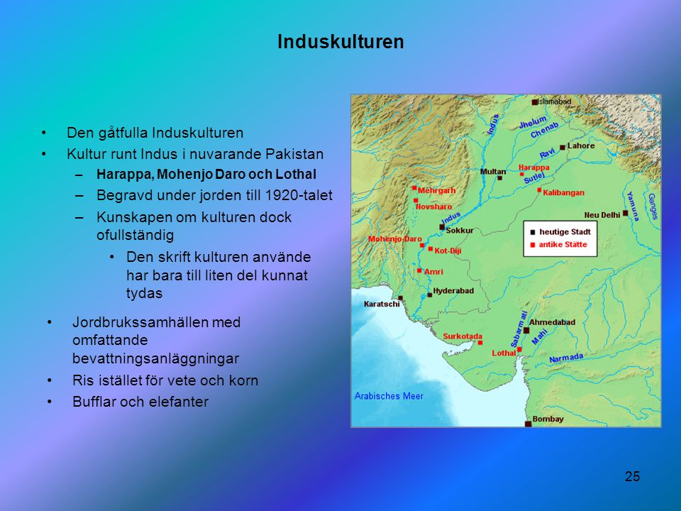 Induskulturen Den gåtfulla Induskulturen