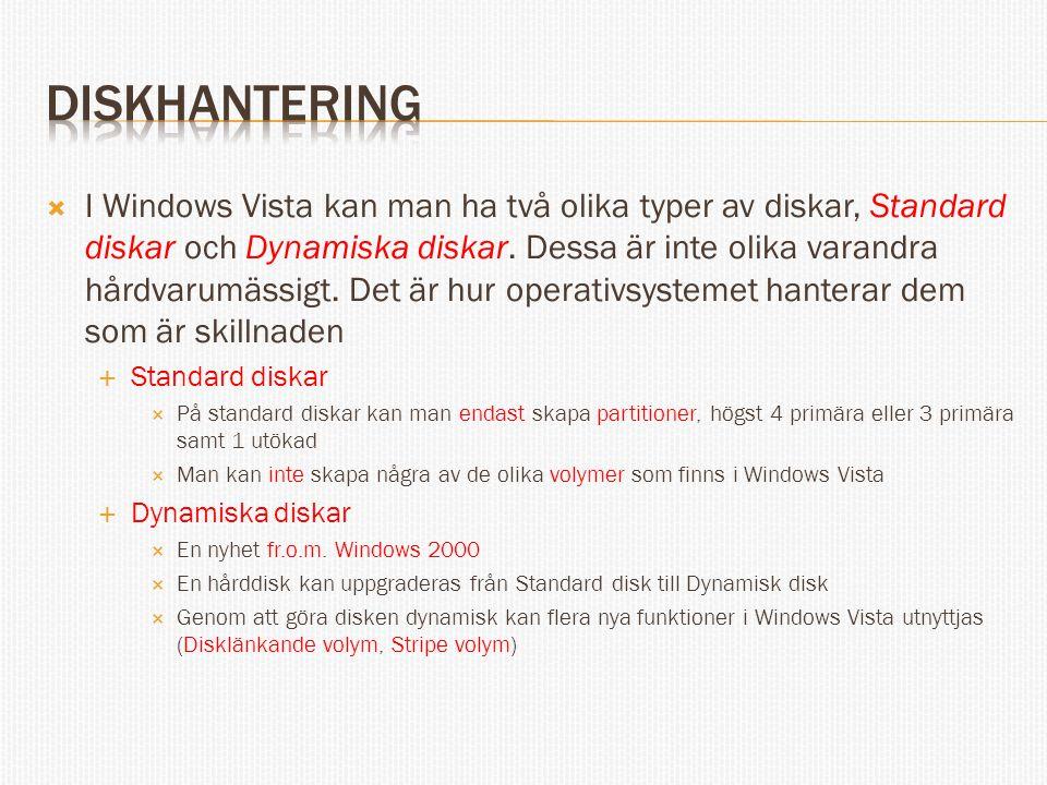 diskhantering