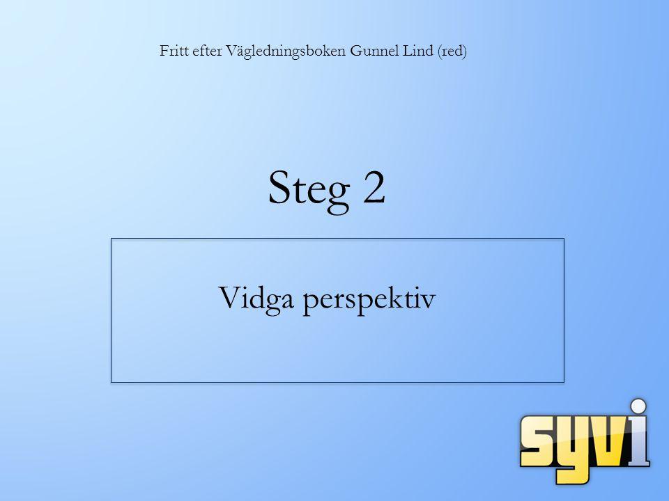 Fritt efter Vägledningsboken Gunnel Lind (red)