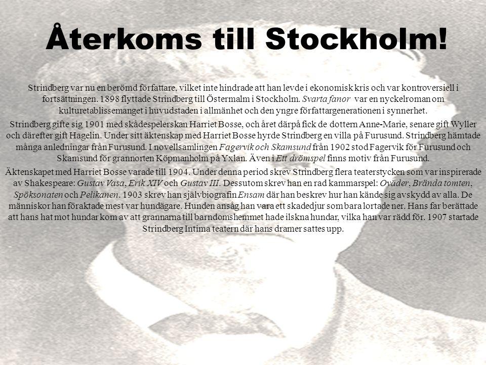 Återkoms till Stockholm!