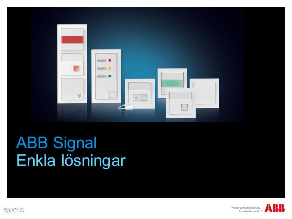 ABB Signal Enkla lösningar