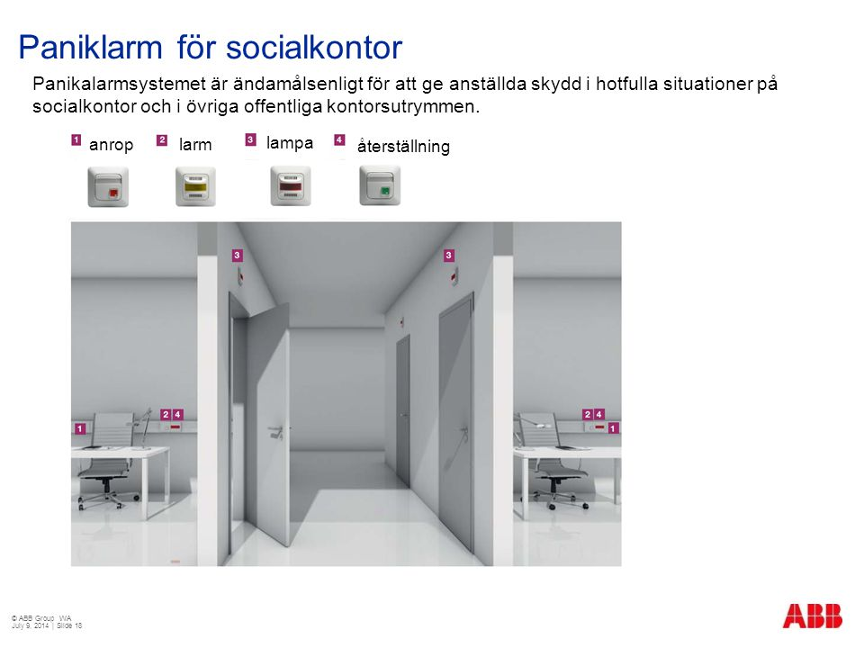 Paniklarm för socialkontor
