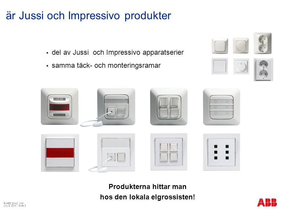 är Jussi och Impressivo produkter