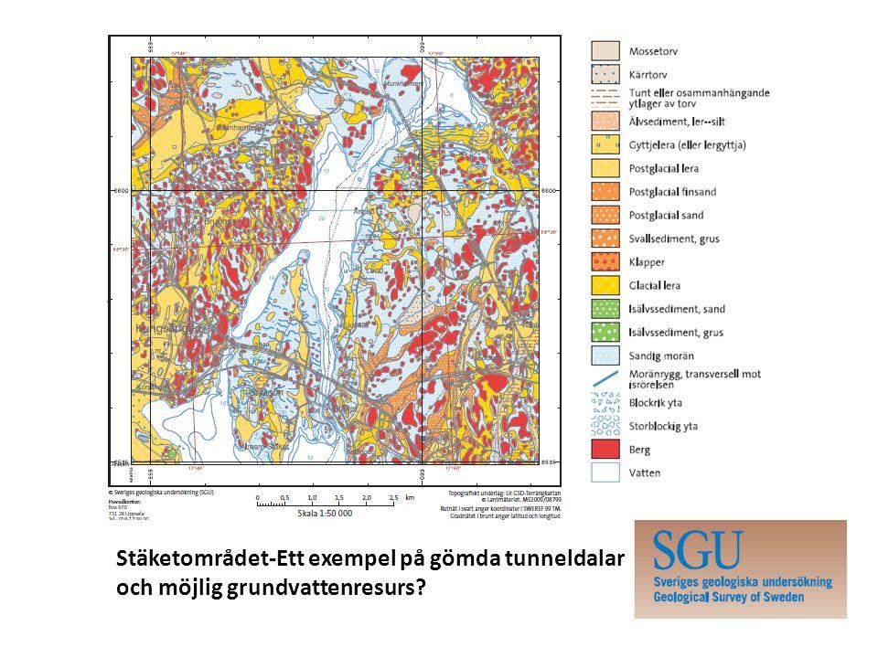 Stäketområdet-Ett exempel på gömda tunneldalar och möjlig grundvattenresurs