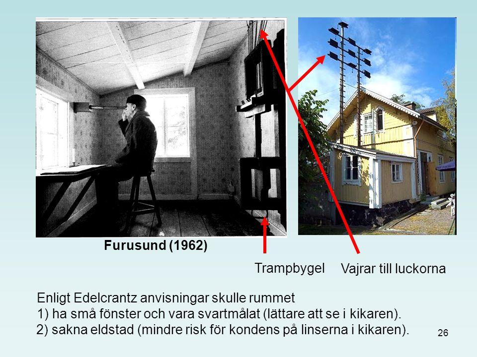 Furusund (1962) Trampbygel. Vajrar till luckorna.