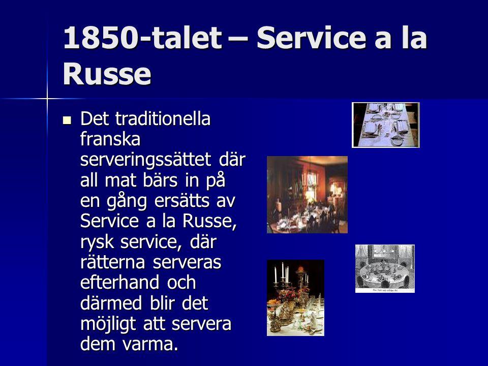1850-talet – Service a la Russe