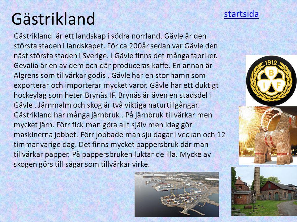 Gästrikland startsida