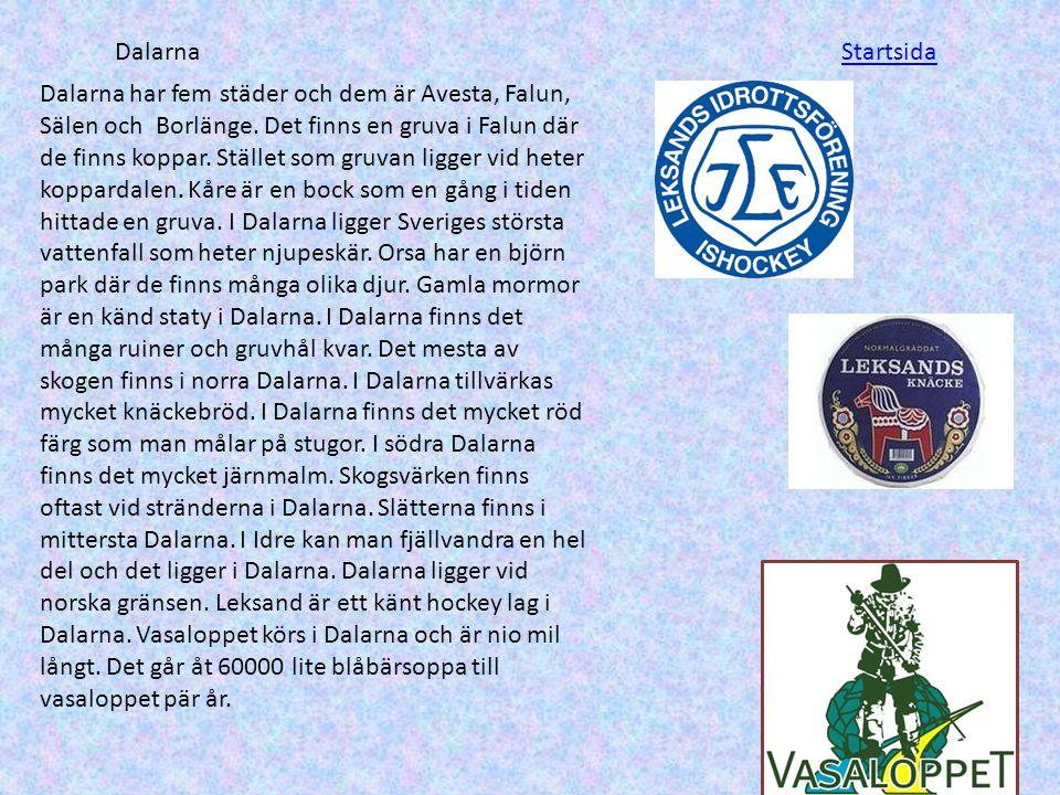 Dalarna Startsida.