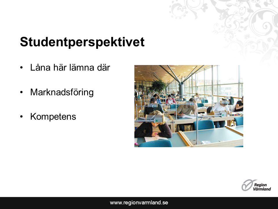 Studentperspektivet Låna här lämna där Marknadsföring Kompetens