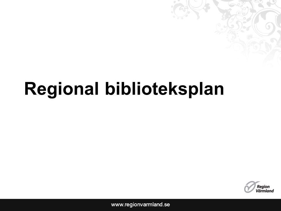Regional biblioteksplan