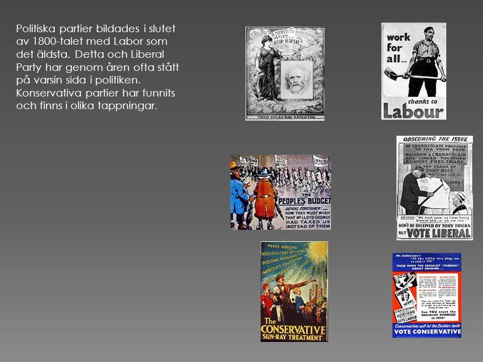 Politiska partier bildades i slutet av 1800-talet med Labor som det äldsta.