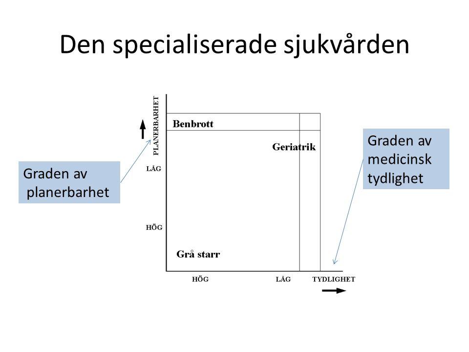 Den specialiserade sjukvården