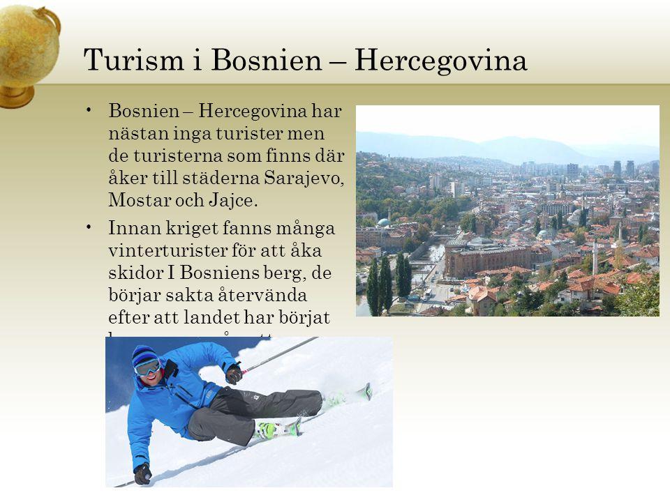 Turism i Bosnien – Hercegovina
