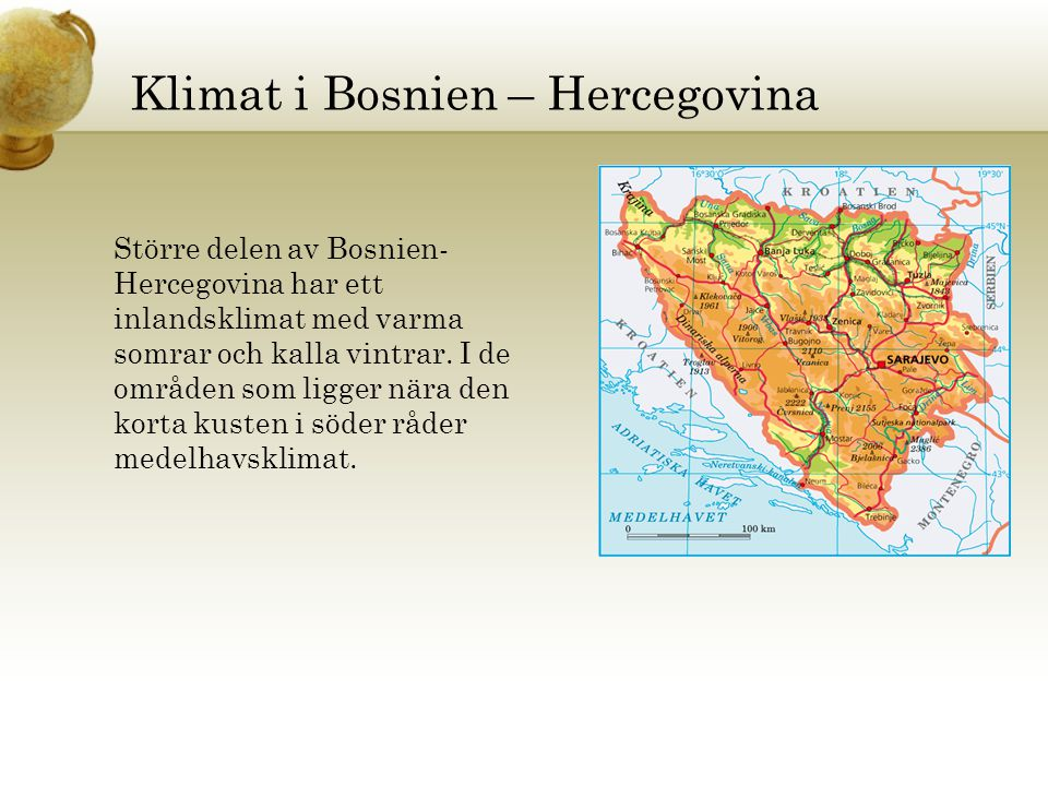 Klimat i Bosnien – Hercegovina