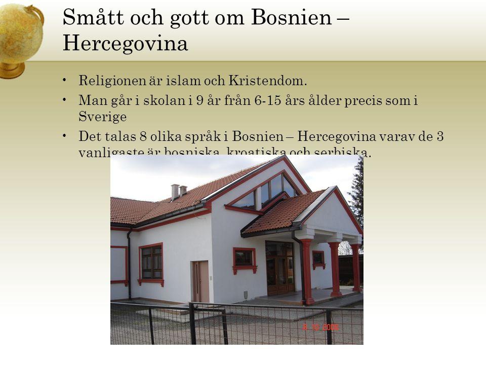 Smått och gott om Bosnien – Hercegovina