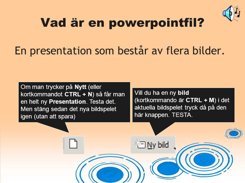 Vad är en powerpointfil