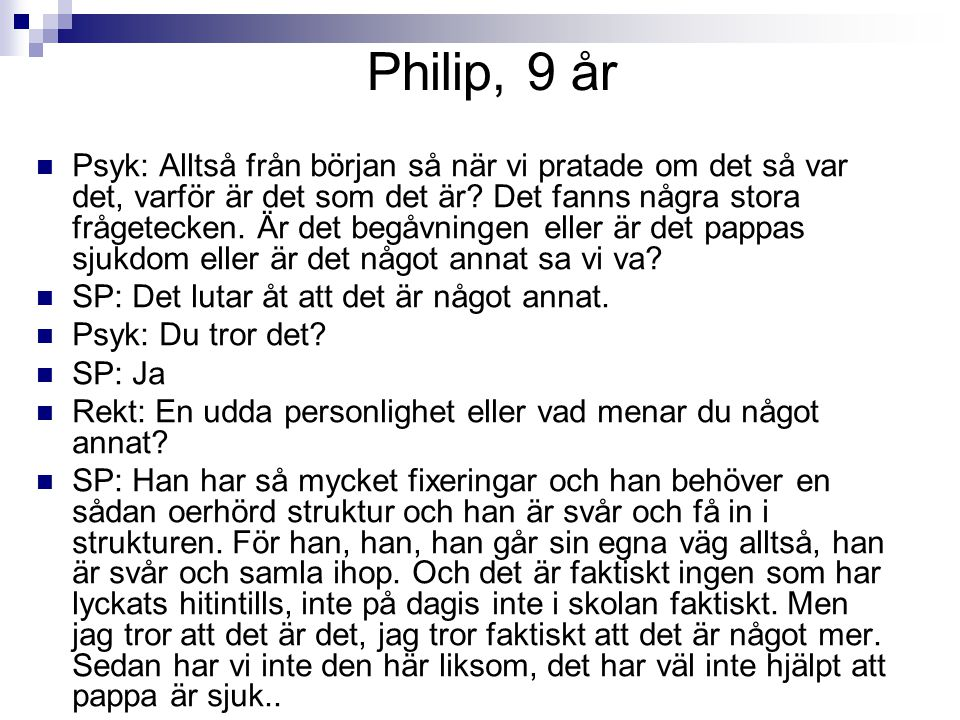 Philip, 9 år