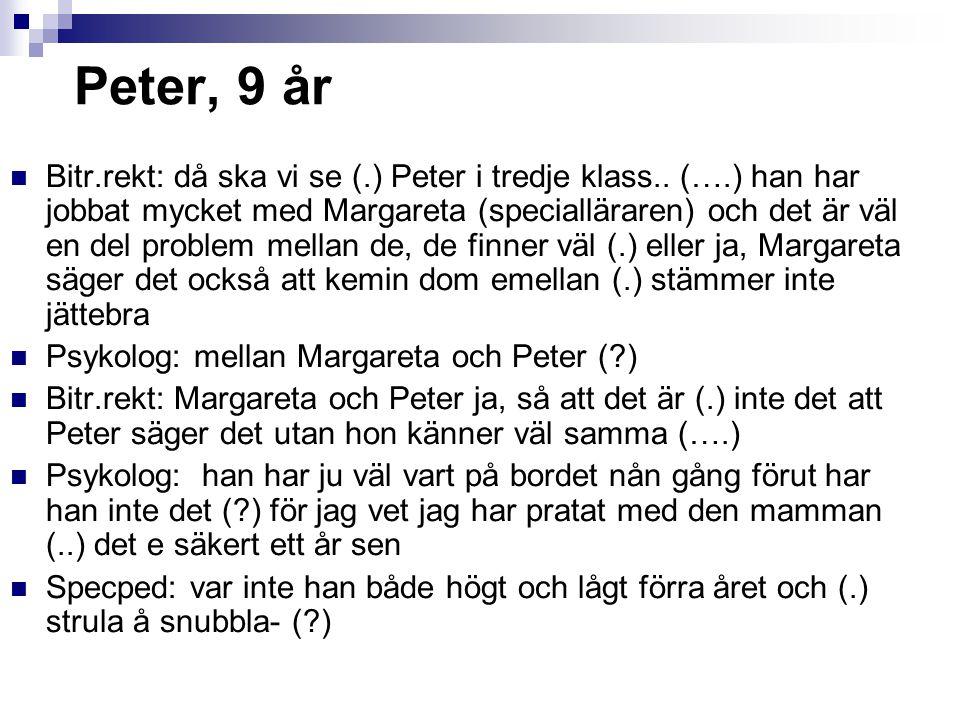 Peter, 9 år