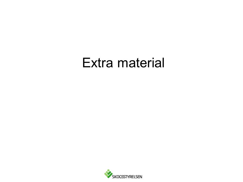 Extra material