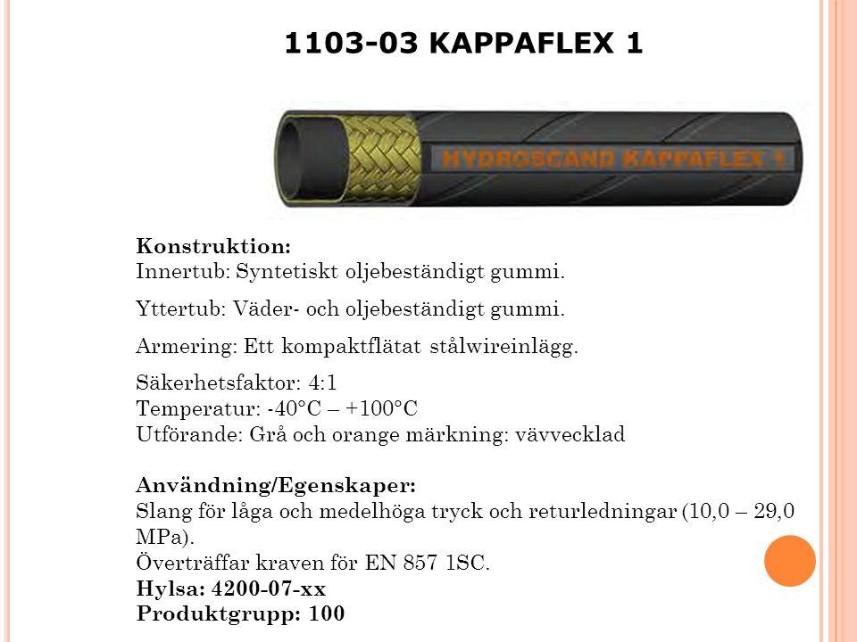 1103-03 KAPPAFLEX 1 Konstruktion: