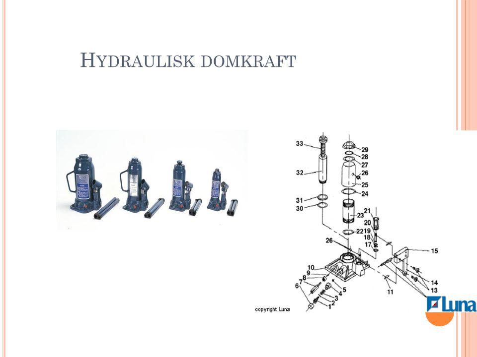 Hydraulisk domkraft