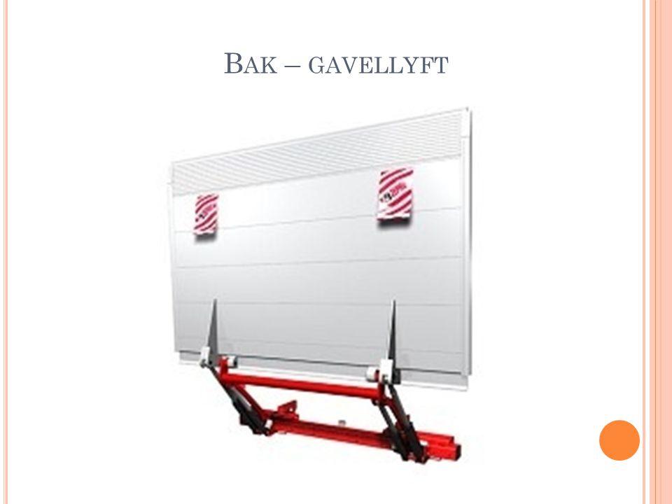 Bak – gavellyft