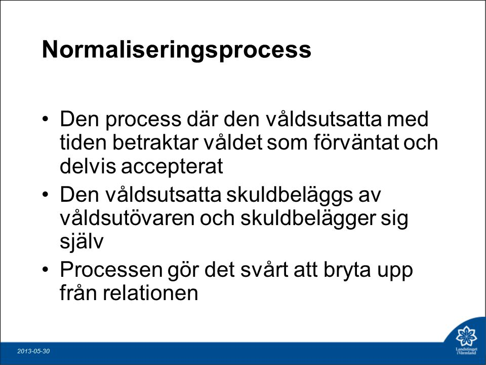 Normaliseringsprocess