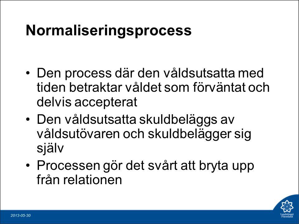 Normaliseringsprocess