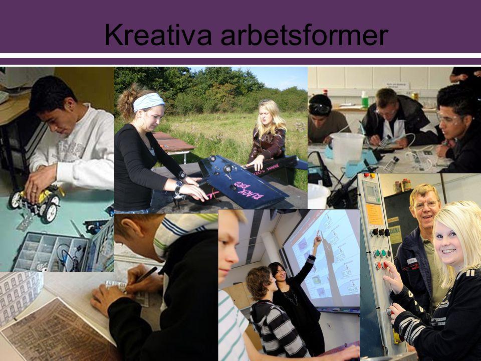 Kreativa arbetsformer