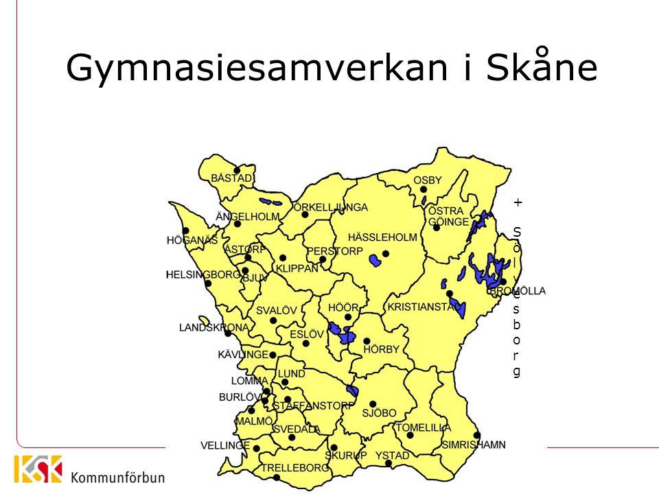 Gymnasiesamverkan i Skåne