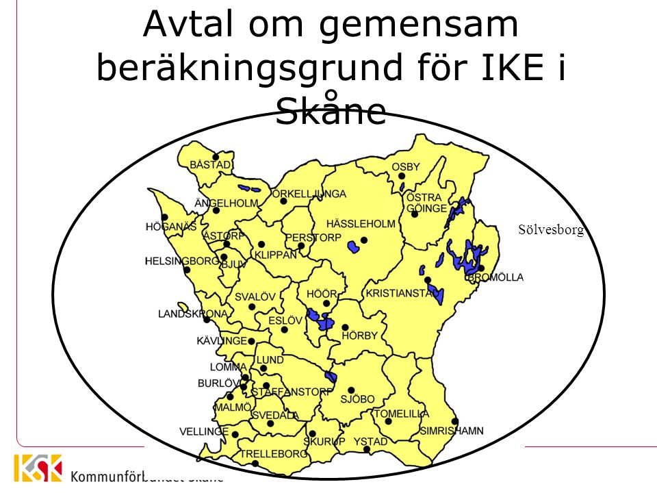 Avtal om gemensam beräkningsgrund för IKE i Skåne