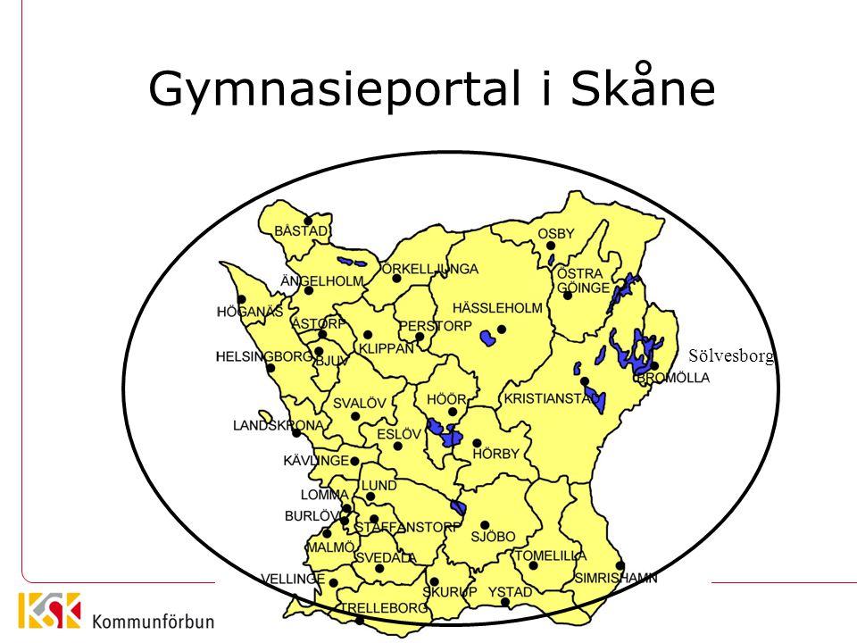 Gymnasieportal i Skåne
