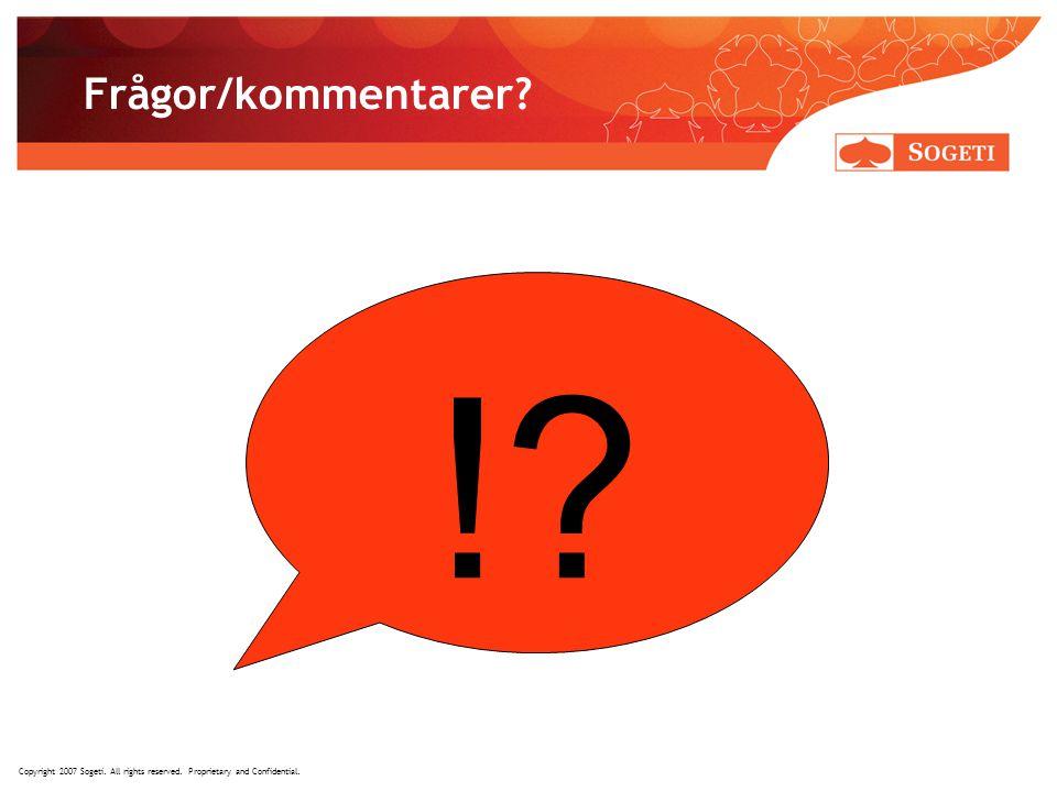 ! Frågor/kommentarer Tack för visad uppmärksamhet!