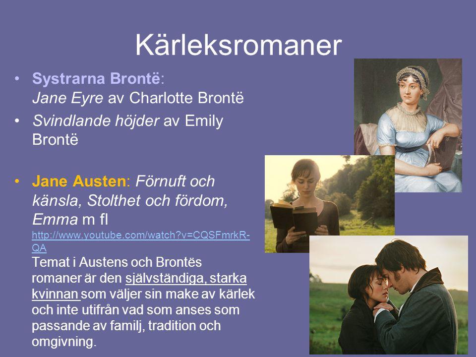 Kärleksromaner Systrarna Brontë: Jane Eyre av Charlotte Brontë