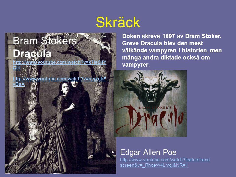 Skräck Bram Stokers Dracula