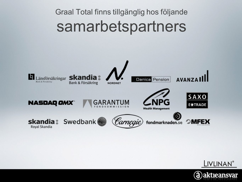 Graal Total finns tillgänglig hos följande samarbetspartners