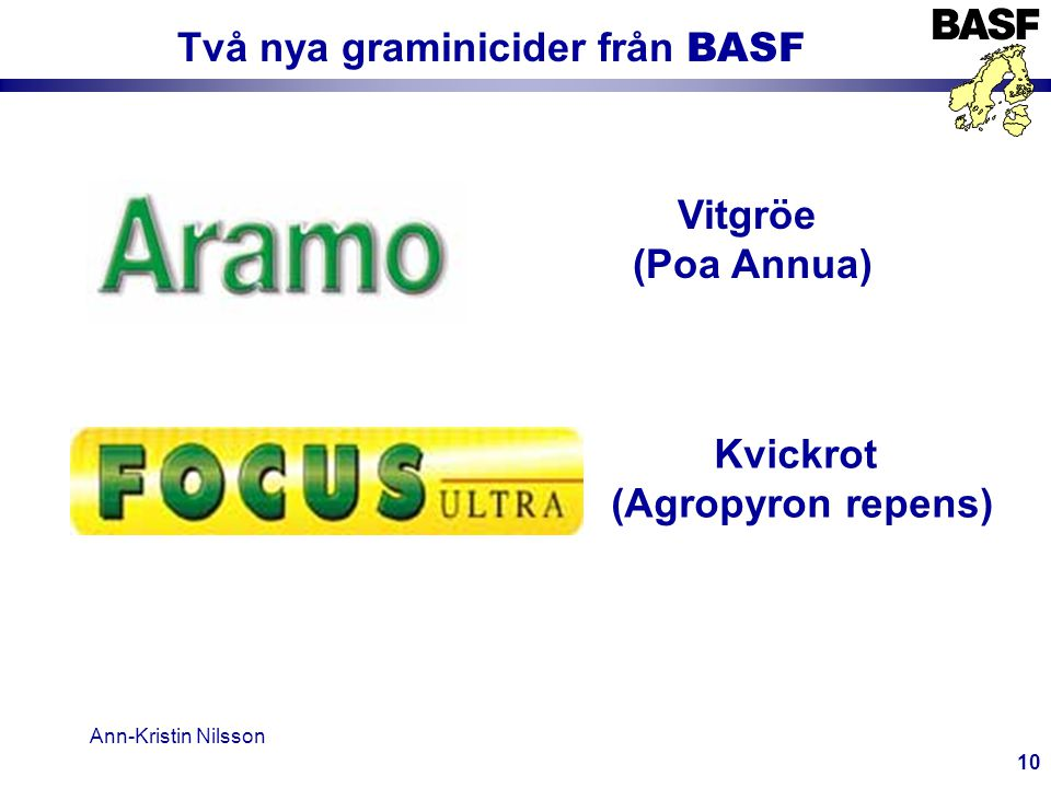 Två nya graminicider från BASF