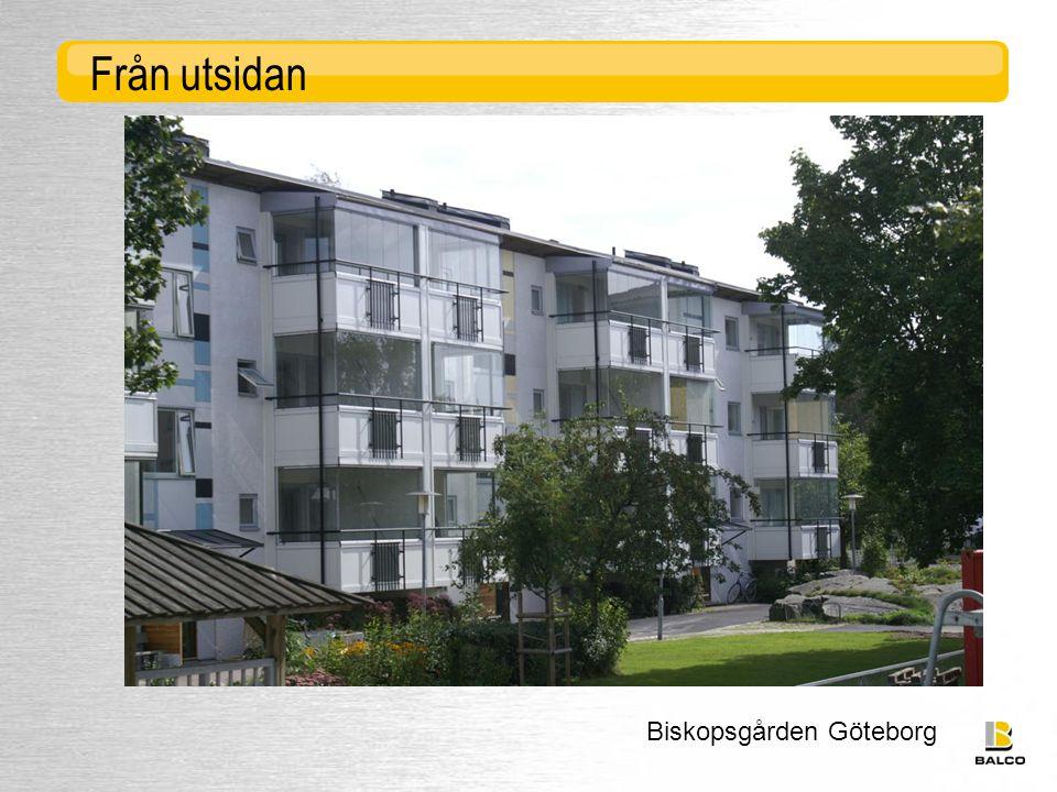 Från utsidan Biskopsgården Göteborg
