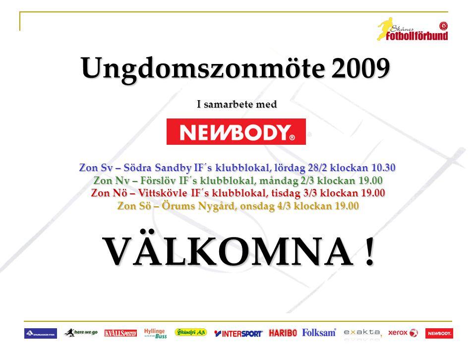 VÄLKOMNA ! Ungdomszonmöte 2009 I samarbete med